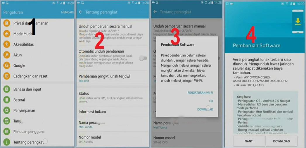 4 Cara Upgrade Android ke Versi Terbaru 8 0 Oreo - Balog18 com