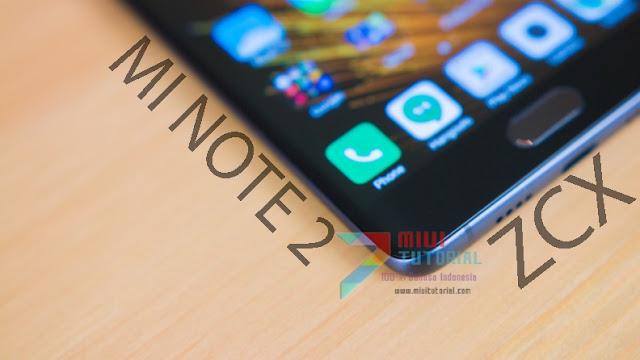 Custom TWRP ZCX: Xiaomi Mi Note 2 Scorpio Tetap Bisa Update OTA Miui 9 + Root SuperSU