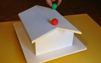 Nevjerovatna iluzija-kuglice na krovu?!