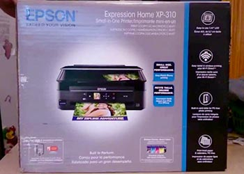 epson xp 310 not printing black ink