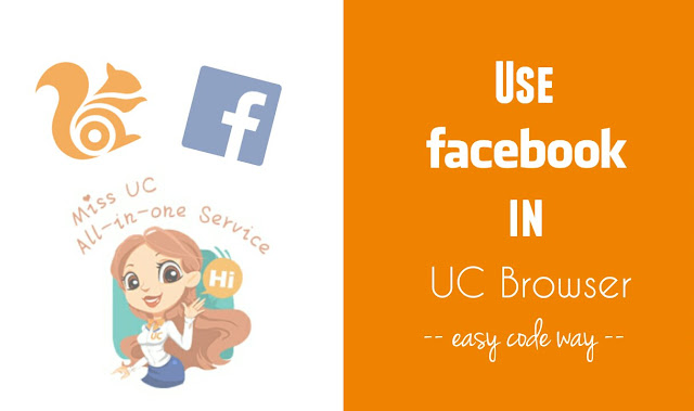 Use Facebook in UC browser