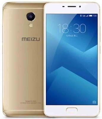 Spesifikasi Meizu M5  Dapur pacu yang telah disematkan pada tubuh Meizu M5 untuk menopang sistem operasi adalah chipset MediaTek, MT6750 menghasilkan kecepatan yang lebih sempurna karena tak hanya chipset saja namun prosesor-nya pun telah mengadopsi Octa Core dengan kecepatan mencapai 1.5GHz. Smartphone Meizu M5 juga sudah menerapkan GPU Mali T860.     Smartphone Meizu M5 sudah support dual SIM dengan menerapkan Hybrid untuk memudahkan kamu dalam menggunakan berbagai operator GSM secara bersamaan. Meskipun bocoran smartphone Meizu M5 belum banyak diketahui tentang desain dan bahan material yang membentuk Meizu M5.  Meizu M5 memiliki koneksi yang mumpuni yakni dapat berjalan pada jaringan 2G GSM, 3G HSDPA, dan sinyal 4G LTE yang lebih cepat. Selain itu, Kecepatan jaringan 4G LTE Cat4 150/50 Mbps yang pastinya membuat koneksi internet jadi lebih cepat. Smartphone Meizu M5 juga telah mengadopsi sistem operasi Android v6.0 Marshmallow dan juga menerapkan Yuna OS 5.1.1. Tak hanya itu saja, smartphone Meizu M5 juga telah memiliki user interface bertipe Flyme.   Kelebihan     Desain cukup elegan. Layar 5.2 inci, IPS-LCD yang jernih. Mesin Octa-core RAM 2 GB atau 3 GB. Memori internal 16 GB atau 32 GB dengan slot microSD hingga 256 GB. Kamera cukup cangg