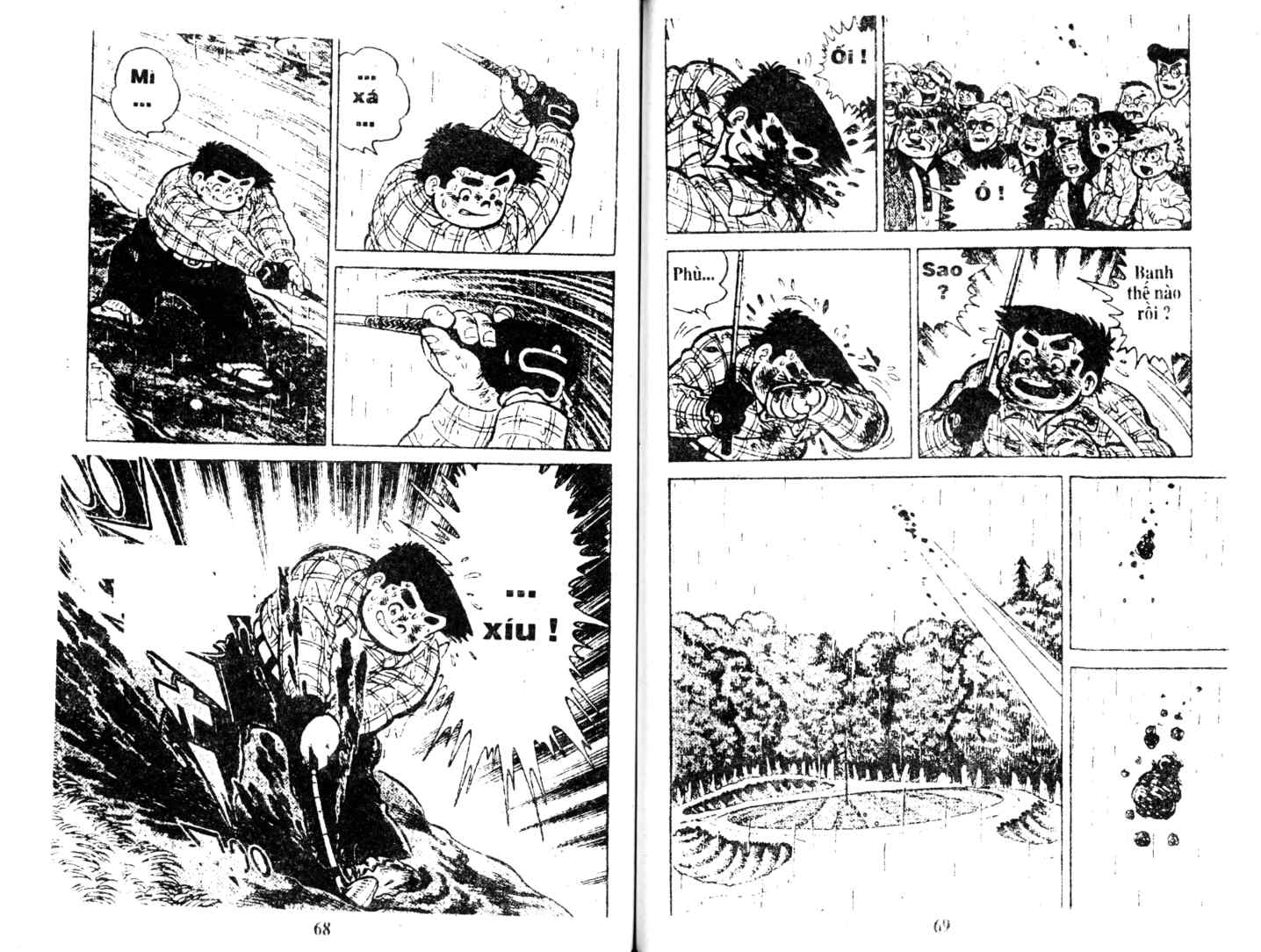 Ashita Tenki ni Naare chapter 9 trang 33
