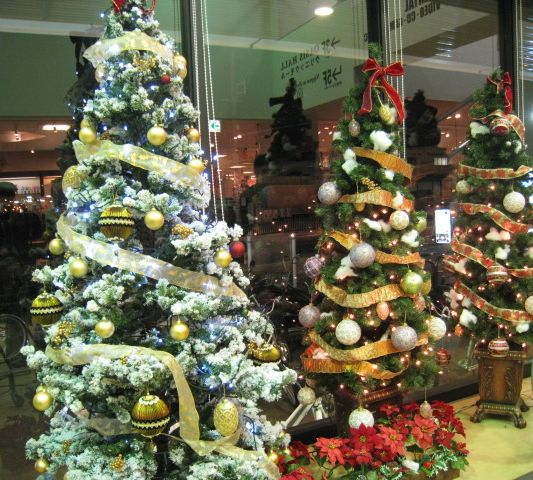 Round Of The Seasons In Japan: Christmas Decorations