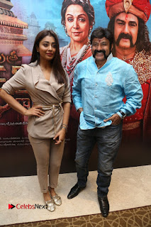 Shriya Saran Nandamuri Balakrishna at Gautamiputra Satakarni Team Press Meet Stills  0105.JPG