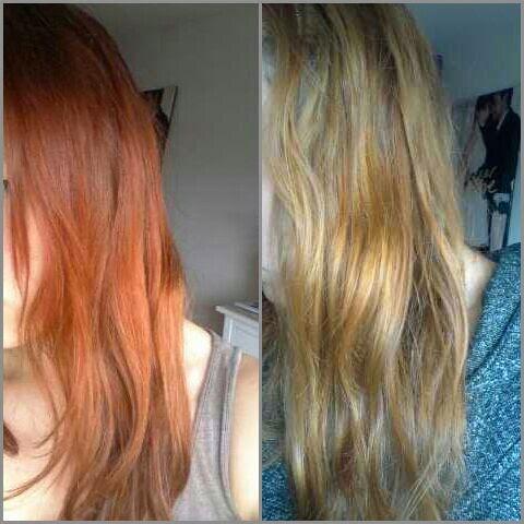 Haare Natürlich Entfärben