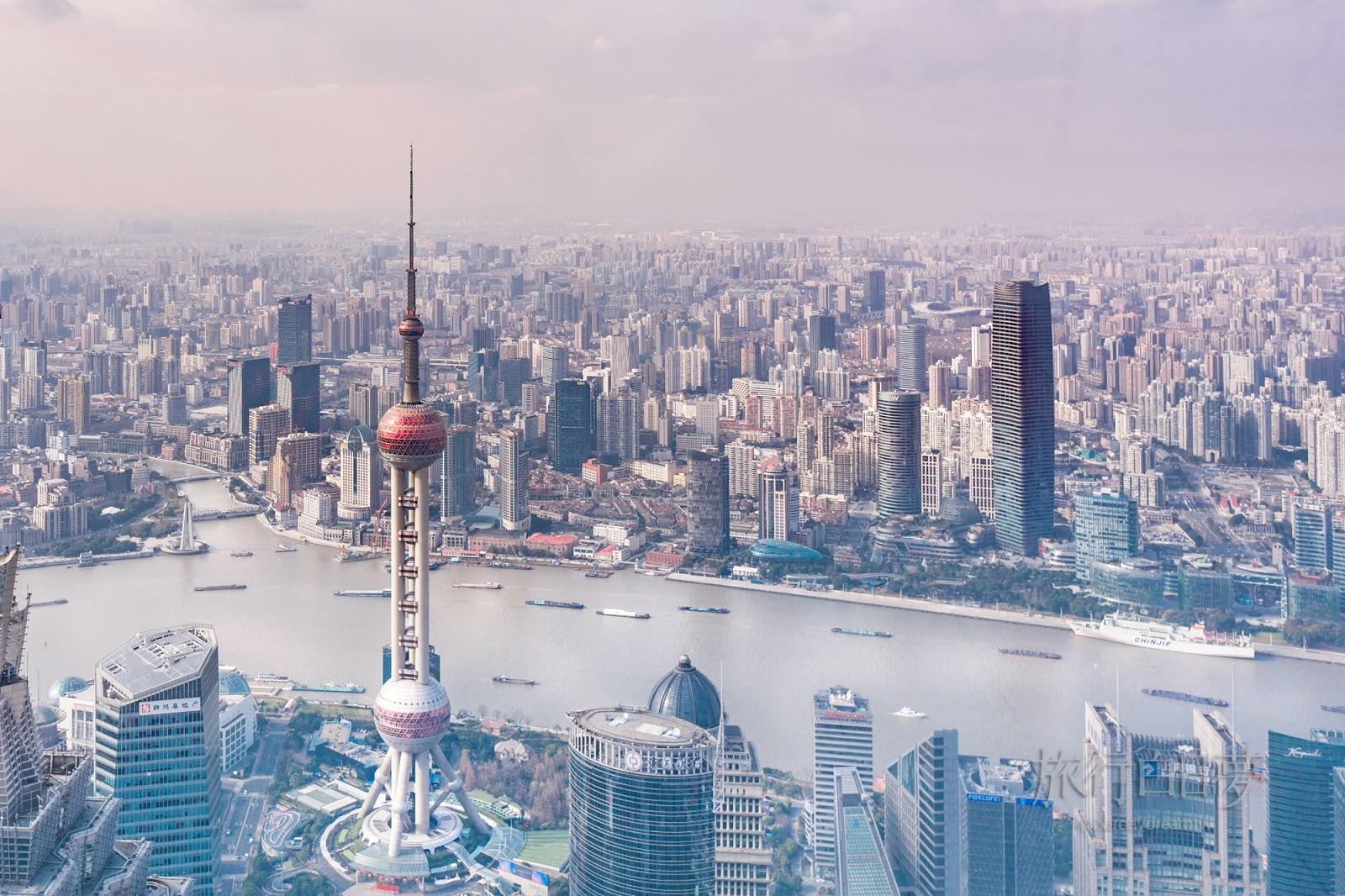 上海黃浦區│上海中心大廈-世界第二高樓&外灘萬國建築群-浦東浦西魔都散步