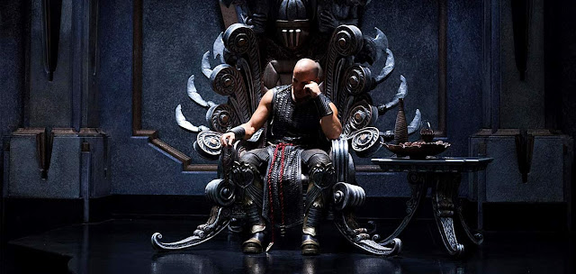 Riddick - Vin Diesel - Necromonger Throne Room
