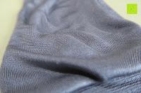Stoff außen: WHITE LOTUS Sexy SEIDEN-HANDSCHUHE Kleidung für Frauen | Elegante Rohseide zur Isolierung der Hände und Entzündungs-Schutz ohne sie zu zeigen | Präsentiert in luxuriöser Geschenk-Box - Grau