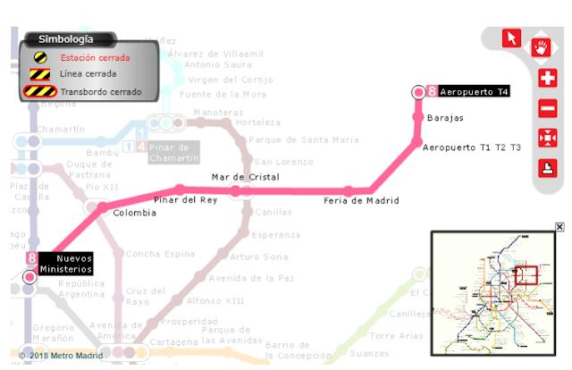 linea 8 metro madrid
