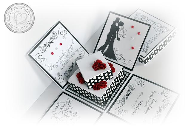 Eleganckie pudełeczko dla Młodej Pary