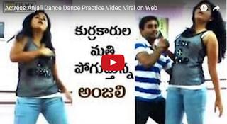 Anjali R0mantic Dance Practice Video Le@ked