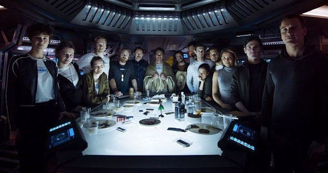 Vídeo presenta al reparto de Alien: Covenant