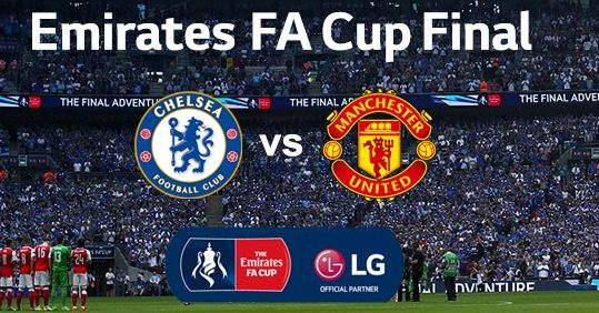 Susunan Pemain Chelsea vs Manchester United - Final Piala FA