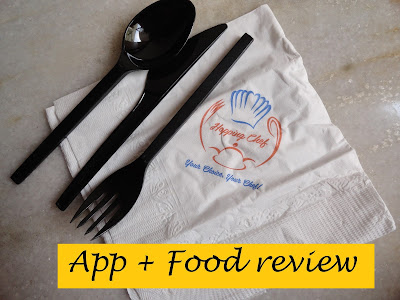 IshtyleAwhileEats: Hopping Chef App Review. image