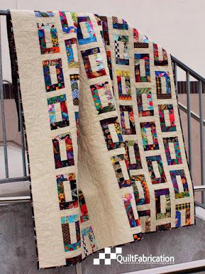 Slots lap quilt