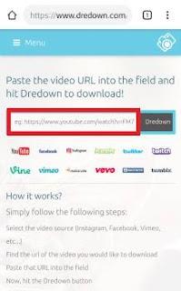 tutorial cara mendownload video di instagram