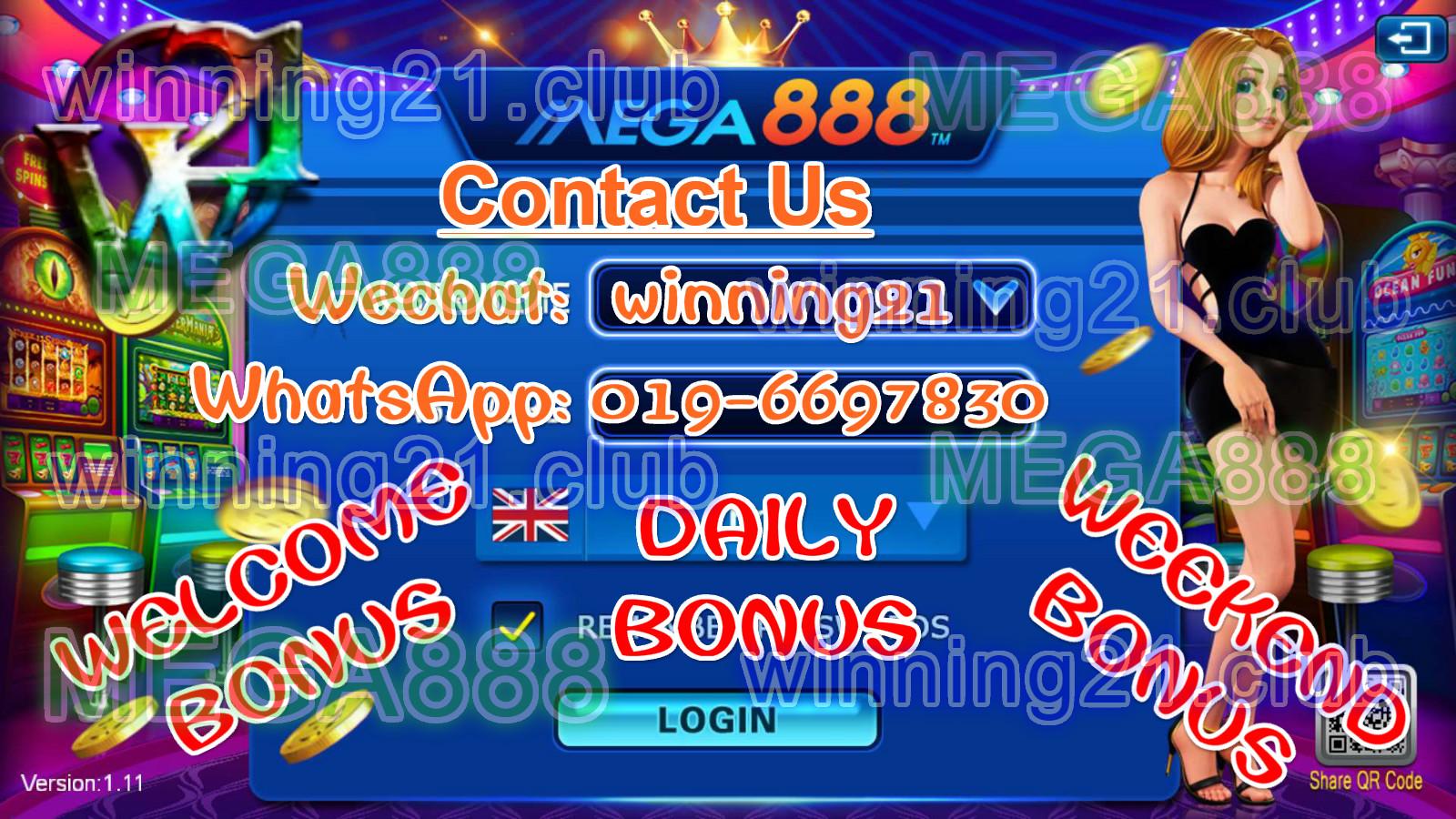 Games Popular Online: MEGA888-FREE IOS DOWNLOAD, FREE