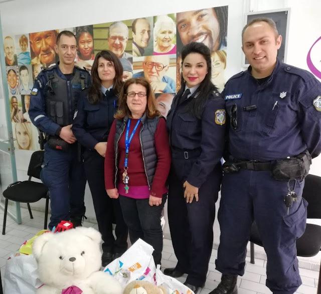 Δωρεά του Αστυνομικού Τμήματος Καλαμάτας στο Κοινωνικό Παντοπωλείο της πόλης