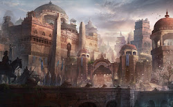 Fantasy Art Medieval City