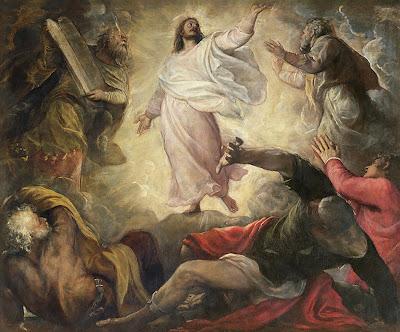 Imagem da transfiguração de Jesus Cristo, pintura, #1
