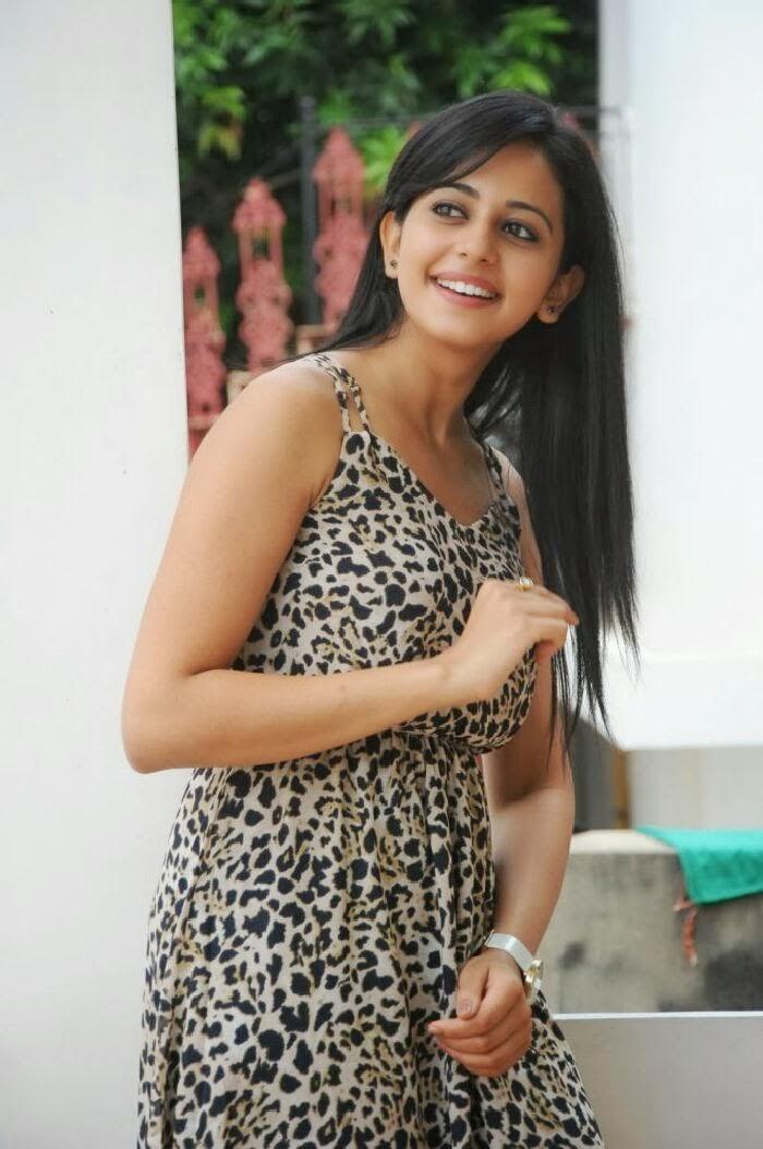 Rakul Preet Singh Stills In Black Dress
