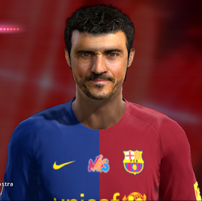 PES 2013 Luis Enrique (Barcelona Coach) Face by FB Facemaker