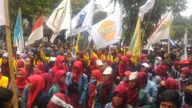 Foto: Demo BEM Se indonesia Kritik 2 Tahun Pemerintahan Jokowi-Jk Sepi Pemberitaan Ada Apa?