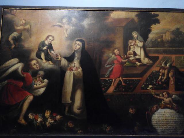 Milagros de Santa Rosa de Lima en la Catedral de Lima, Perú