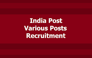 India Post 1735 Various Posts Recruitment 2019, Apply online for India Post website