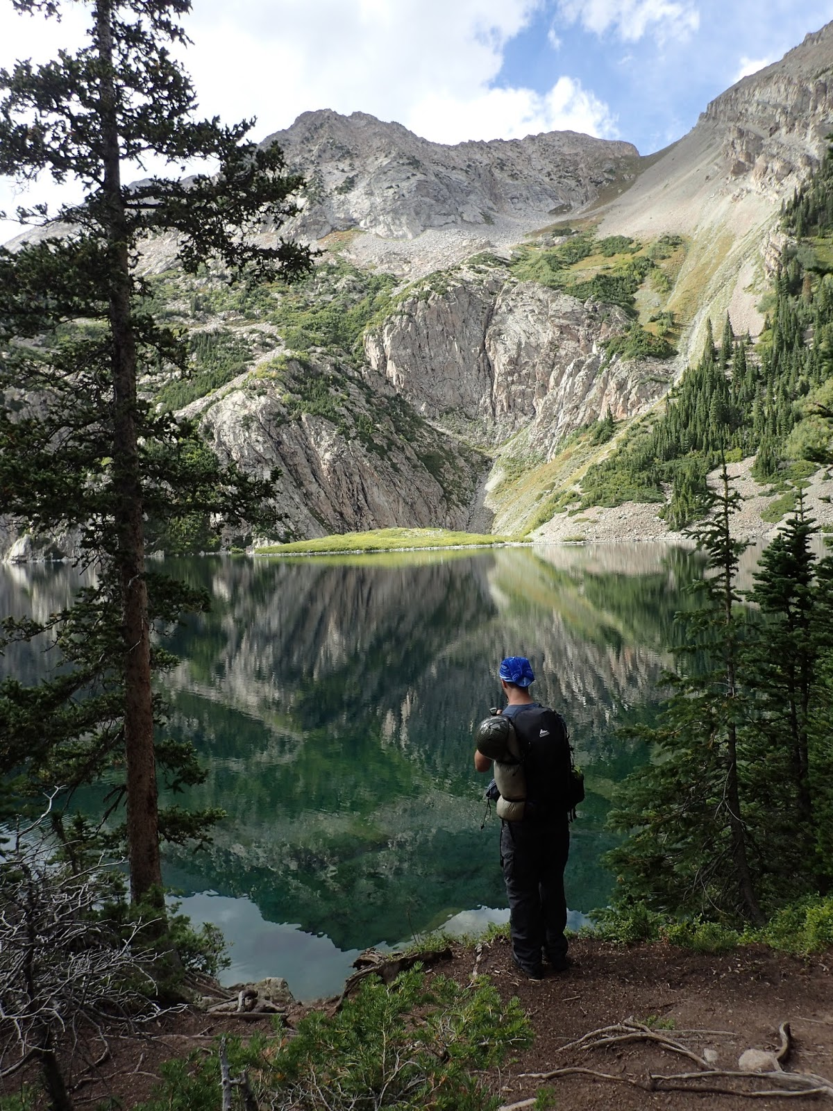 Backpacking Colorado Trekking To Snowmass Lake In The