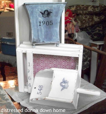 quick makeovers, distressed painting, Bermuda Sand paint