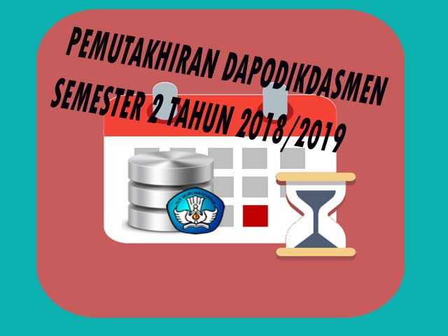 Pemutakhiran Dapodikdasmen 2019.c semester 2