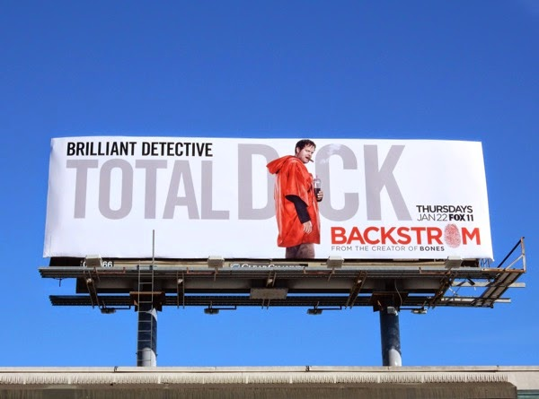Total Dick Backstrom series premiere billboard