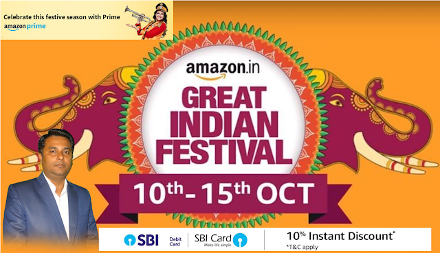 Amazon Great Indian Festival Sale 2018, Offers, Discount & Cashback