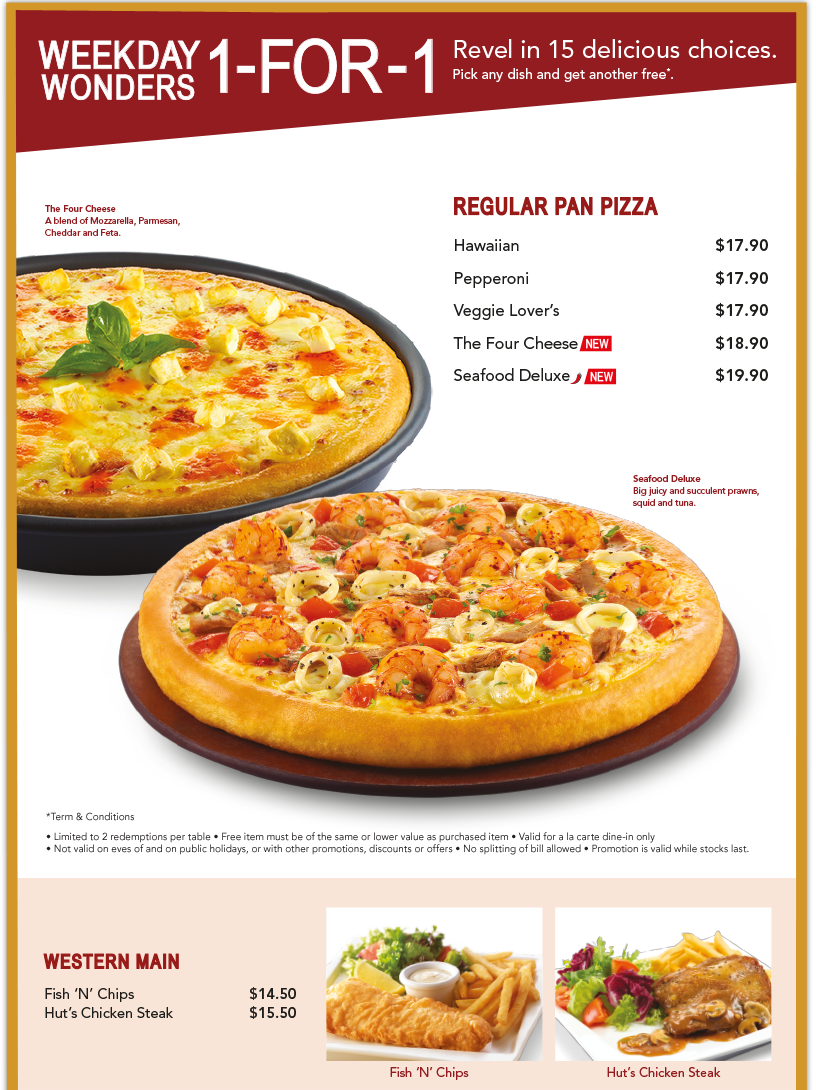 Pizza Hut Singapore Online Delivery. We Deliver the Best Pizza, Pasta, Chicken, Big Variety Box and More!