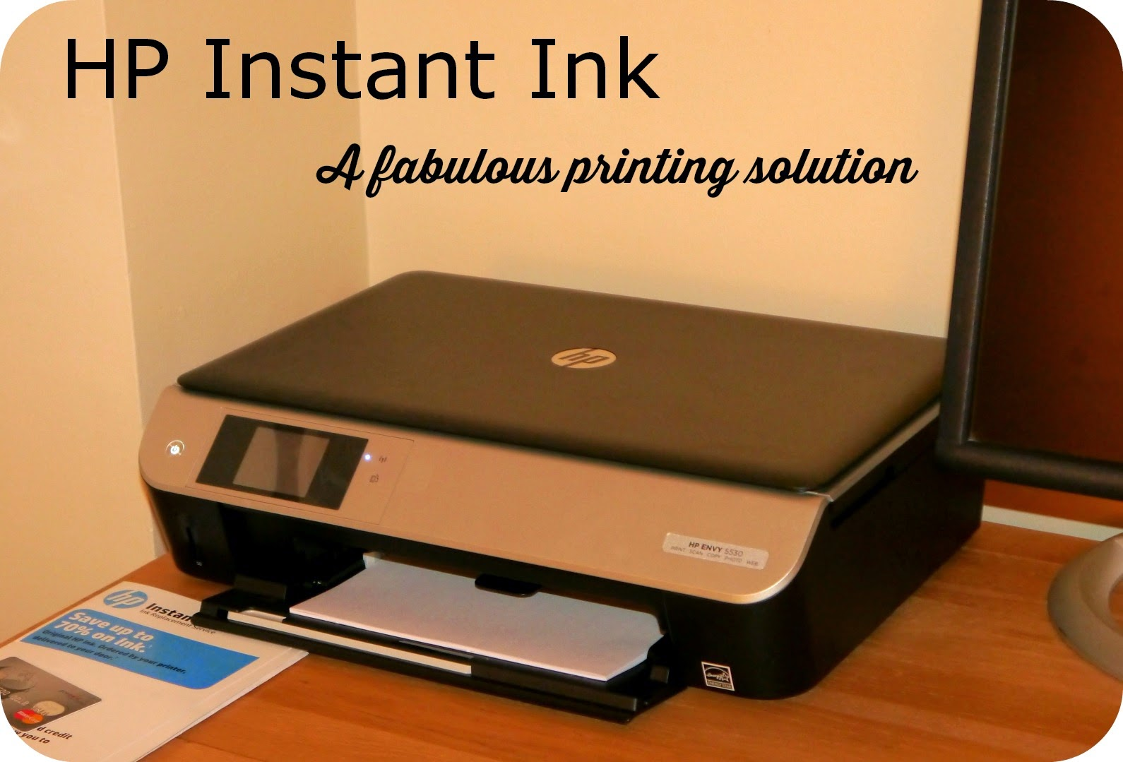 Mummy From The Heart: No fuss printing with HP Instant Ink