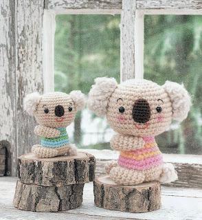 http://freecraftpattern.blogspot.my/2014/07/koala-bears-amigurumi-soft-toy-free.html