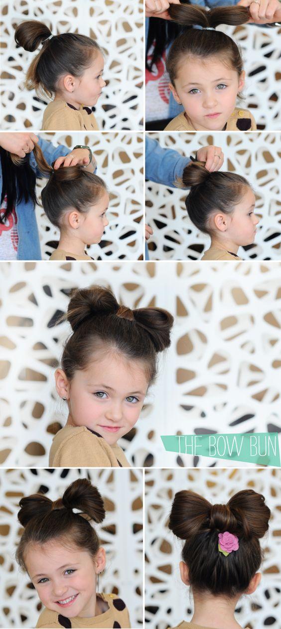 Cute hair for kids...