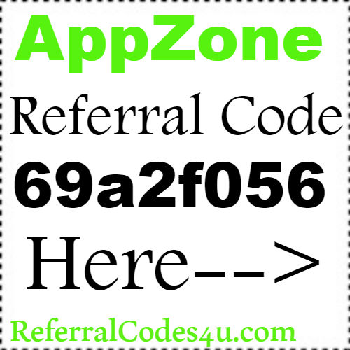 AppZone Referral Code, Share Code, Reviews and Sign Up Bonus 2018-2019