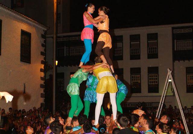 El plazo para inscribirse en la Danza de Acróbatas finaliza el 4 de noviembre