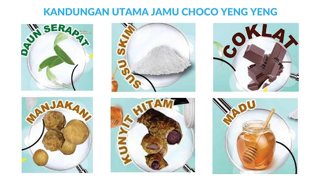 Kandungan Jamu Choco Yeng Yeng
