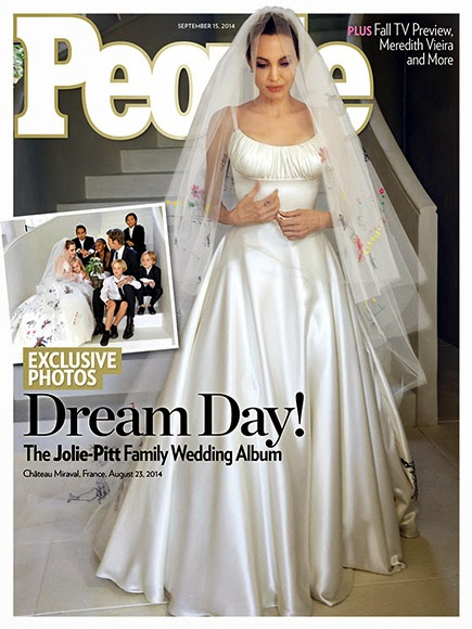 777ec4ae7 A Pipoca Mais Doce: Era isto o vestido de casamento da Angie?