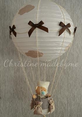 Παιδικό φωτιστικό οροφής αερόστατο
