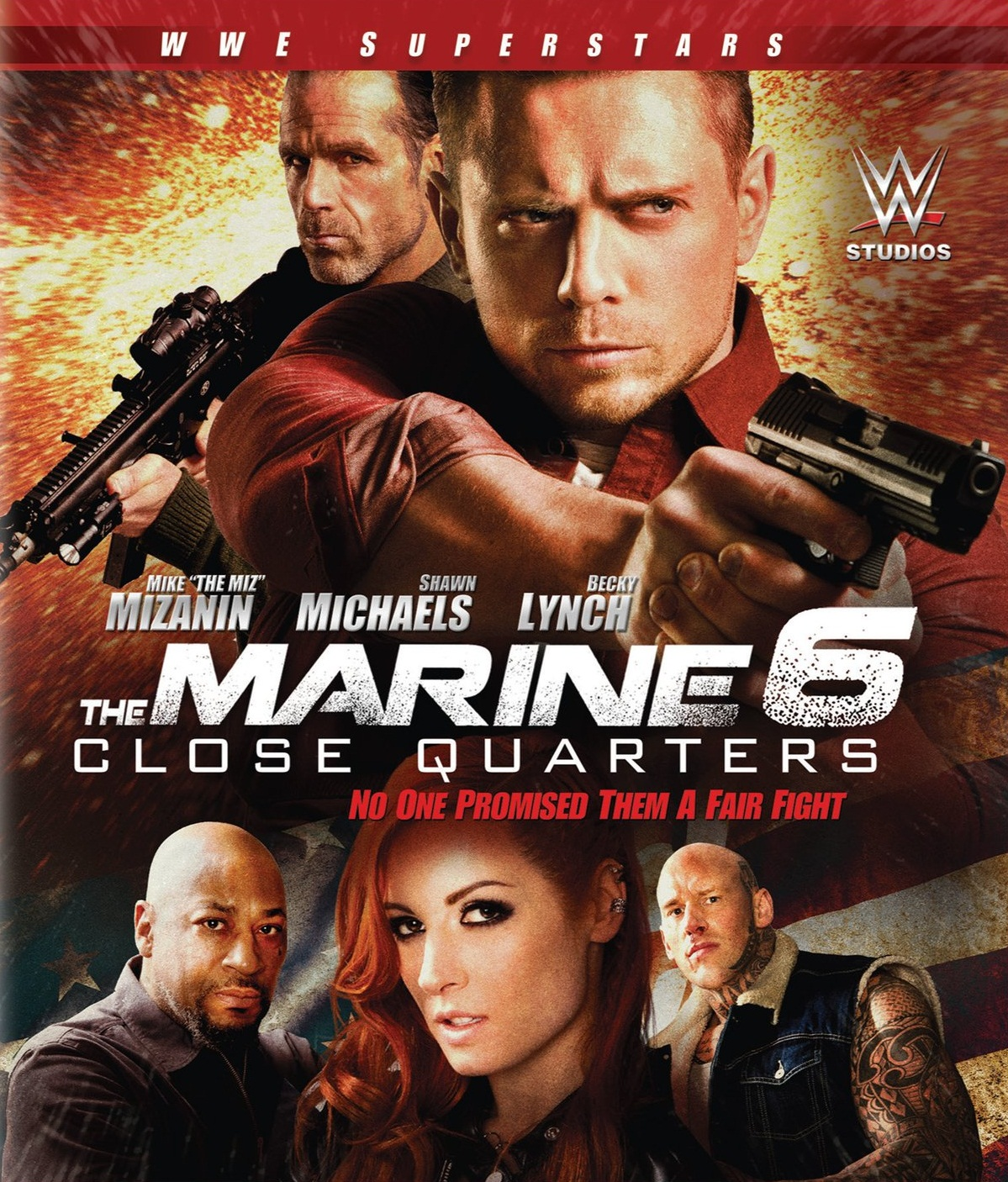 The Marine 6: Close Quarters [2018] [DVDR] [NTSC] [Latino]