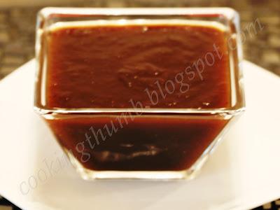 Sweet Tamarind Chutney recipe, Red Chutney recipe