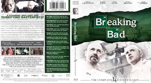 Capa Bluray Breaking Bad Quarta Temporada Completa