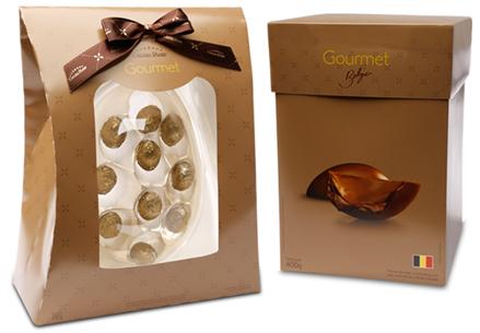 ovos de chocolate para Páscoa gourmet Cacau Show