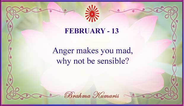 Thought For The Day February 13