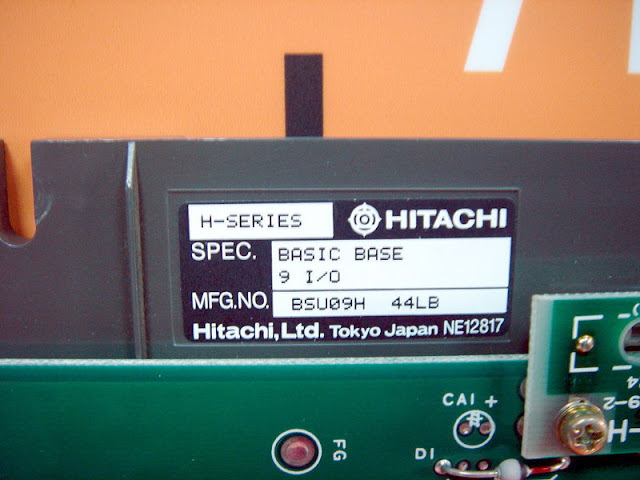 HITACHI H-SERIES BASIC BASE 9 I/O BSU09H